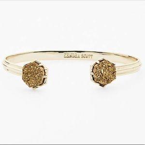 KENDRA SCOTT 'Arden' Gold And Druzy Bracelet